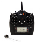 Spektrum DX6 Gen3 2.4GHz med AR6600T