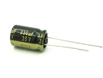 Panasonic FM 35V 330uF Low ESR Capacitor