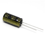 Panasonic FM 35V 470uF Low ESR Capacitor