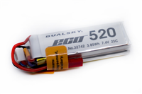 2s   520mAh - 25C - Dualsky XPower ECO-S - JST