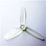 Gemfan Flash Durable 3 Blade 5552-Clear