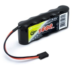 6,0V 1600mAh - Vapex Reciver Battery Flat - NiMh
