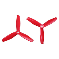 Gemfan Hulkie Durable 3 Blade 5055S Ferrari Red
