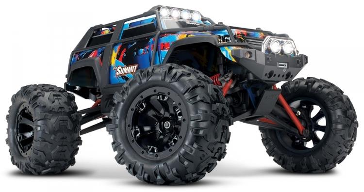 Traxxas Summit 1/16 4WD TQ RTR :: Komplett
