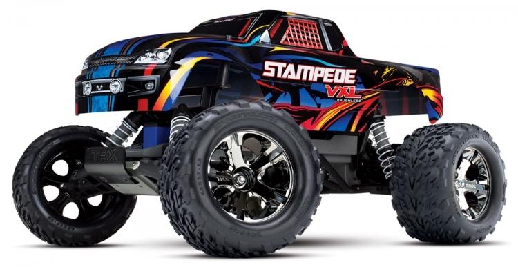 Traxxas Stampede 1/10 2WD VXL TSM u/batteri