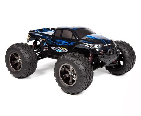 BlackZon Wild Challenger Monstertruck RTR - Blå