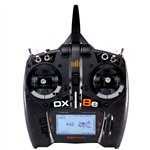 Spektrum DX8e 2.4GHz u/Mottaker
