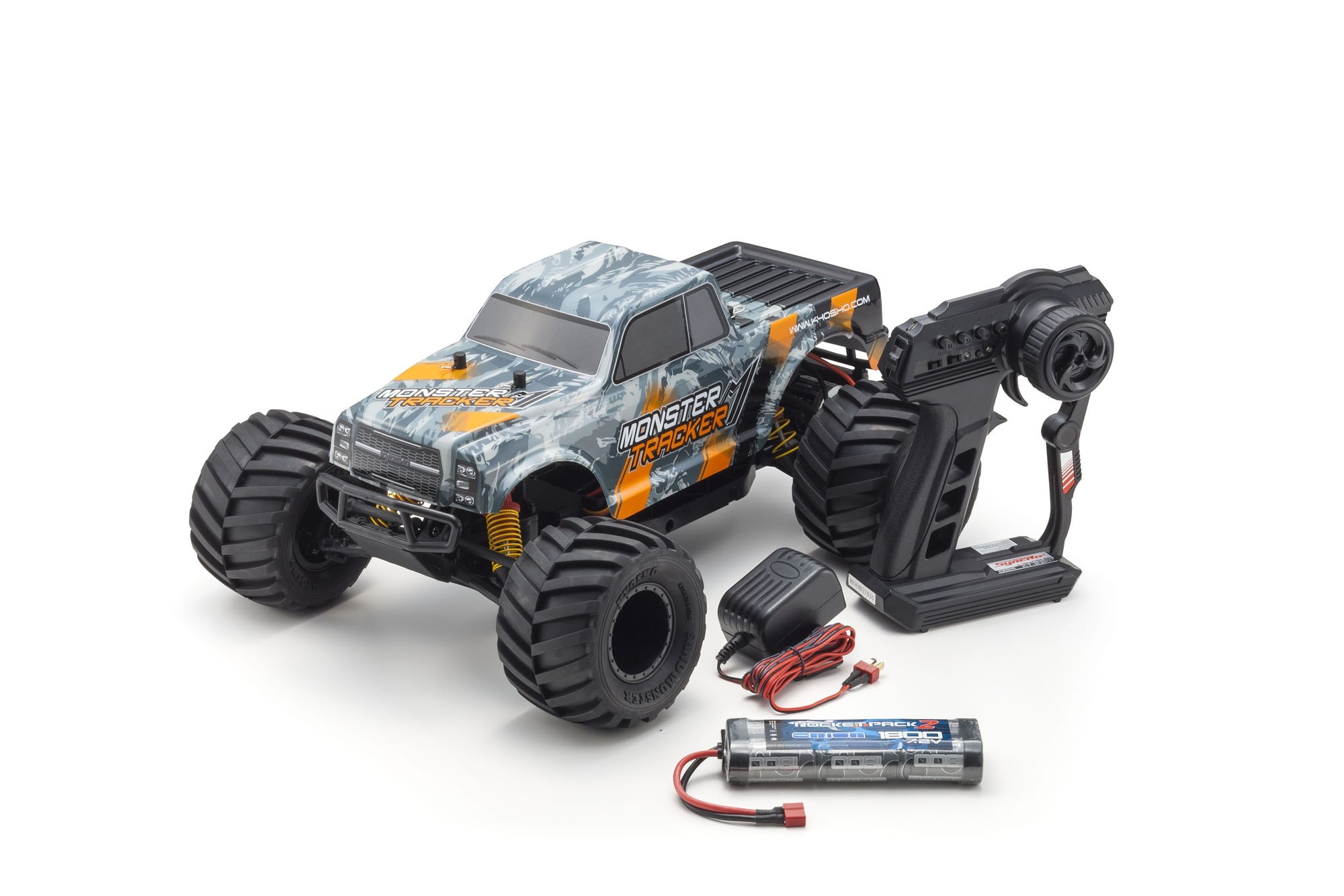 Kyosho Monster Tracker 2WD 1/10 EP T2 ReadySet