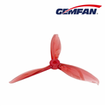 Gemfan Flash Durable 3 Blade 5149-Clear Red