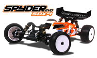 Serpent Spyder SDX4 EVO Buggy 1/10 4WD EP Kit