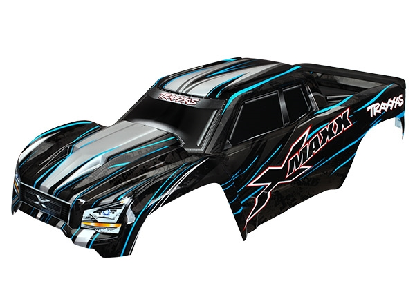 Traxxas TRX-7711A Body X-Maxx ProGraphix Blue