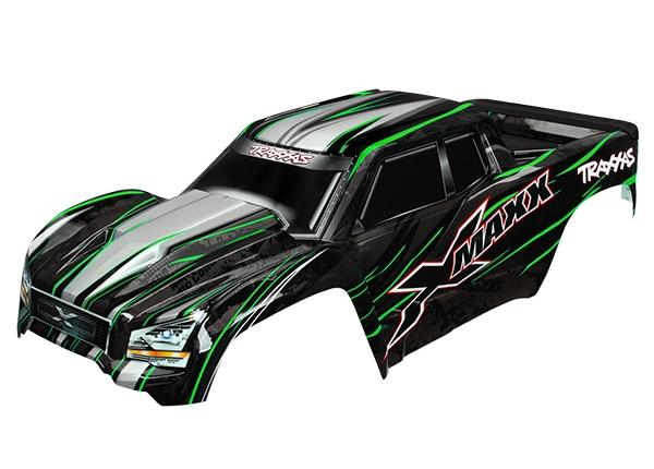 Traxxas TRX-7711G Body X-Maxx Green ProGraphix