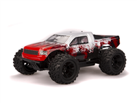 HSP Monster 1:18 Brushed Red - Komplett