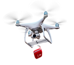 Air-Dropping System for Phantom 4 Series