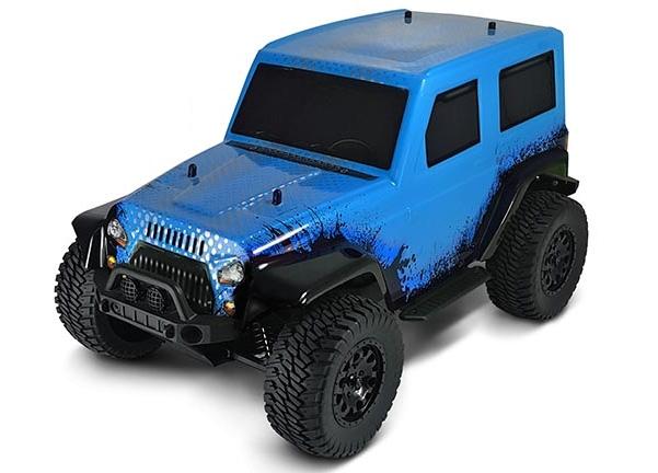 HSP Jeep 4WD 1:10 Blå - Komplett