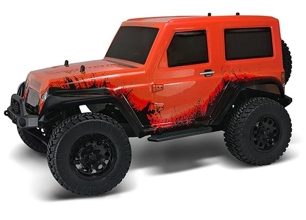 HSP Jeep 4WD 1:10 Orange - Komplett