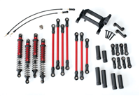 TRX-8140R Long Arm Lift Kit TRX-4 Red Complete