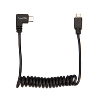 ConnecThor Cable Coiled Micro USB - Micro USB