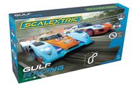 Scalextric Bilbane - Gulf Racing Set