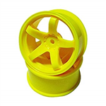 Topline N Model 3mm H-Support Offset5 Yellow 2pcs