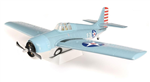 Parkzone F4F Wildcat BNF 1m m/AS3X og SAFE Select