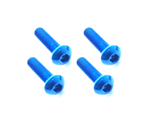 M3x18mm Blue Button Head Screw (4pcs)