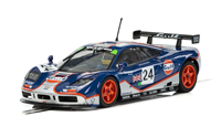Scalextric McLaren F1 GTR Gulf Edition Le Mans