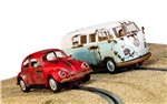 Scalextric Rusty Legends Rides VW Beetle/T1b