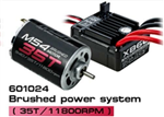 MST-601024 M54-35T Brushed power system