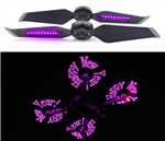 Programmable Led Propellers for DJI Mavic 2