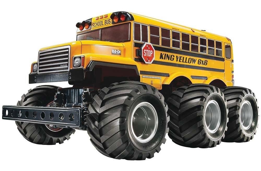 Tamiya King Yellow 6x6 Monstertruck - Kit