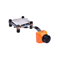 RunCam Split 2S FPV Camera Orange NTSC/PAL