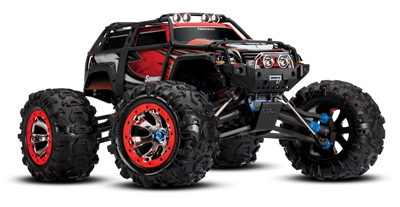Traxxas Summit 4WD 2.4GHz 1/10 RTR u/batt Red