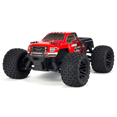 ARRMA Granite Mega 4WD Red/Black
