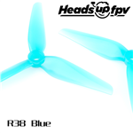 HQ Durable Prop R38 5.1inch Racing Blue