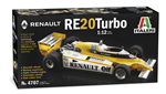 ITALERI 1:12 - Renault RE20 Turbo F1