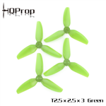 HQ Durable Prop T2.5X2.5X3 Green (2CW+2CCW)