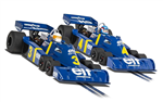 Scalextric Legends Tyrrell P34 1976 Twin Pack