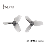 HQ Micro Whoop Prop 31mm Grey 1mm (2CW+2CCW)