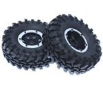 RED-13851 Pre-Mounted Tire Set 1.9 - 2pcs