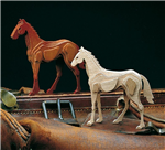 Amati - Young Horse 14x12cm