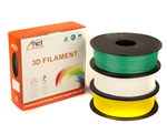 Anet PLA Value Pack 1x75mm White, Green, Yellow