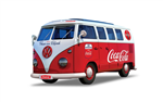 Airfix Quick Build Coca-Cola VW Camper Van