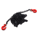 Yeah Racing 96cm Long Chain and Hook Set Black