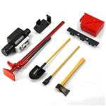 Yeah Racing Accessory Tool Set Red