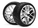 HPI-4702 Mounted X-pattern tire