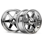 HPI-3847 TE37 Wheels Chrome - 2stk