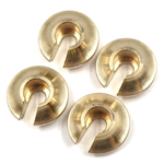 Yeah Racing Brass Spring Retainer 4pcs for SCX10