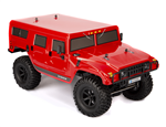 HSP Hummer Trail Rider Red - Komplett