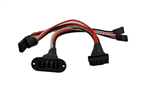 HobbyDetails Dual Servo Wing Harness 150mm